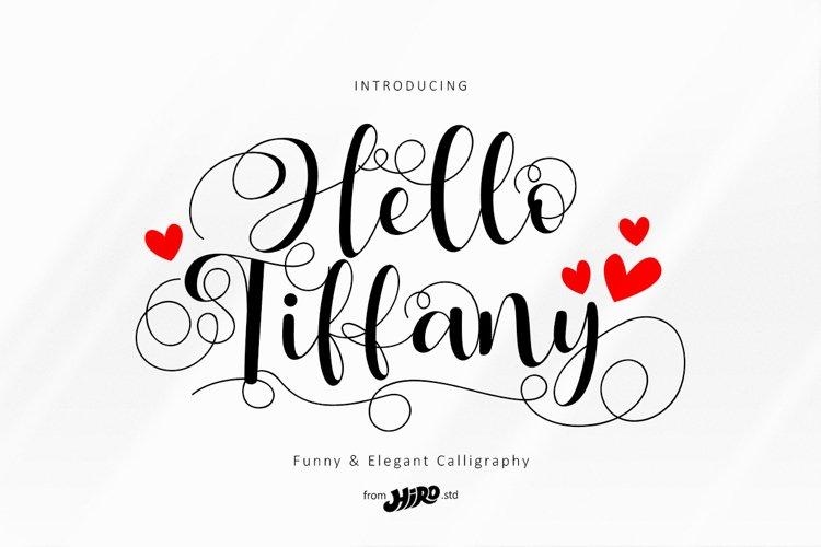 Hello Tiffany example image 1