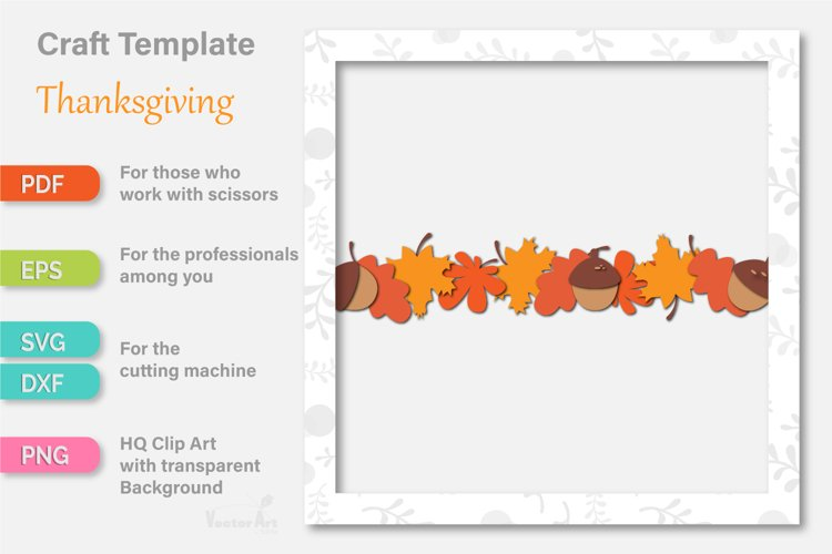Thanksgiving Turkey - Paper Cut for Crafter example 2