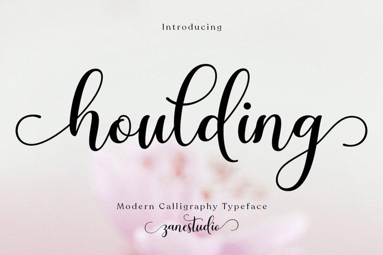 Houlding Script example image 1