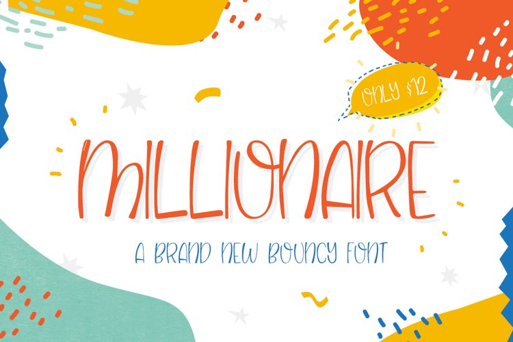 Millionaire Font example image 1