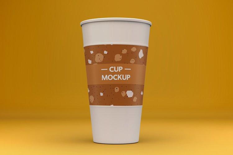 3 Paper Cup Mockups