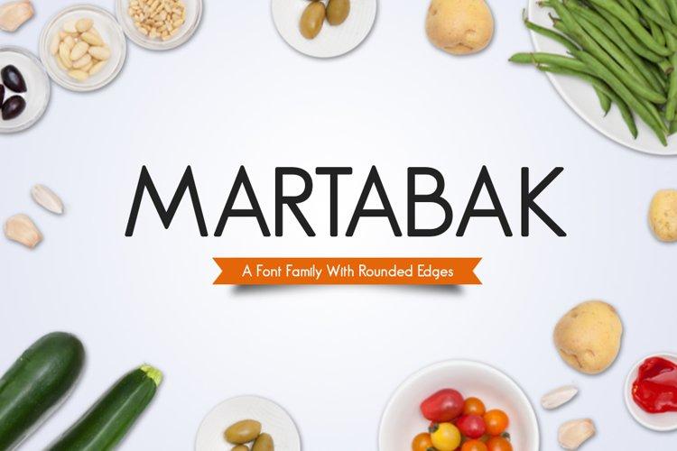 Martabak Typeface example image 1
