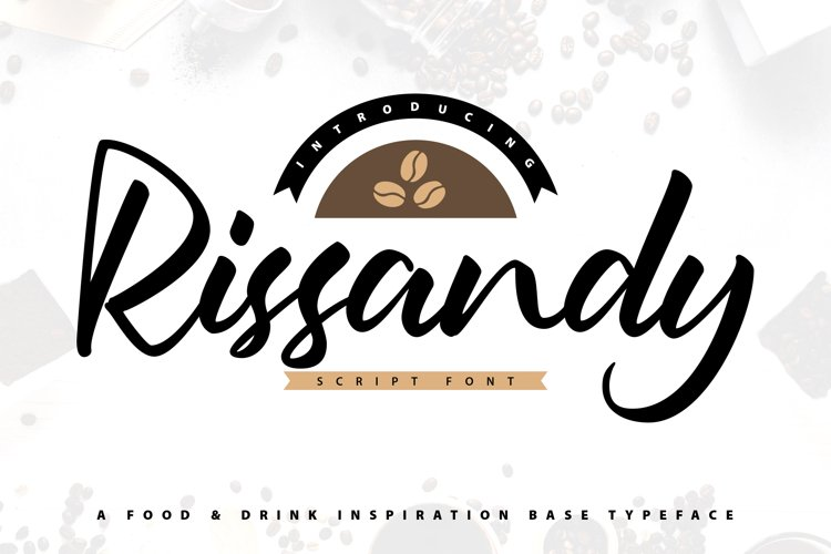 Rissandy - Handcrafted Lettering Script Font example image 1