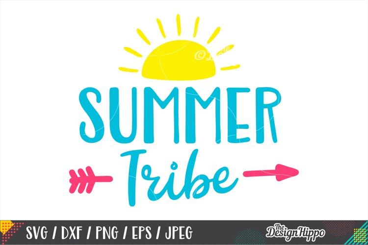 Summer Tribe SVG, Squad, Kids, Arrow, SVG PNG DXF Cut Files