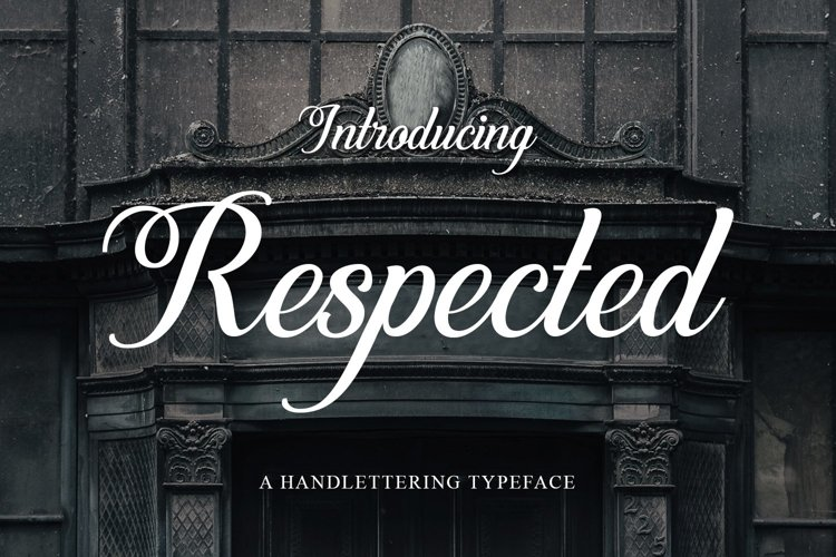 Web Font Respected example image 1