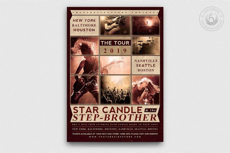 Live Concert Flyer Template V2 example image 1