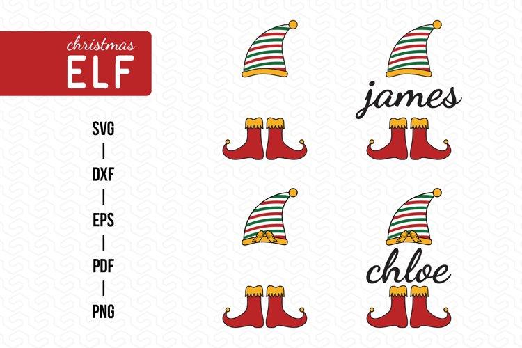 ELF SVG, Christmas SVG, Christmas ELF Clipart example image 1