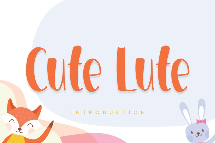 Cute Lute example image 1