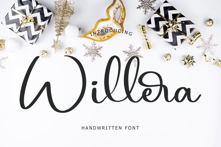 Willera Handwritten Font example image 1