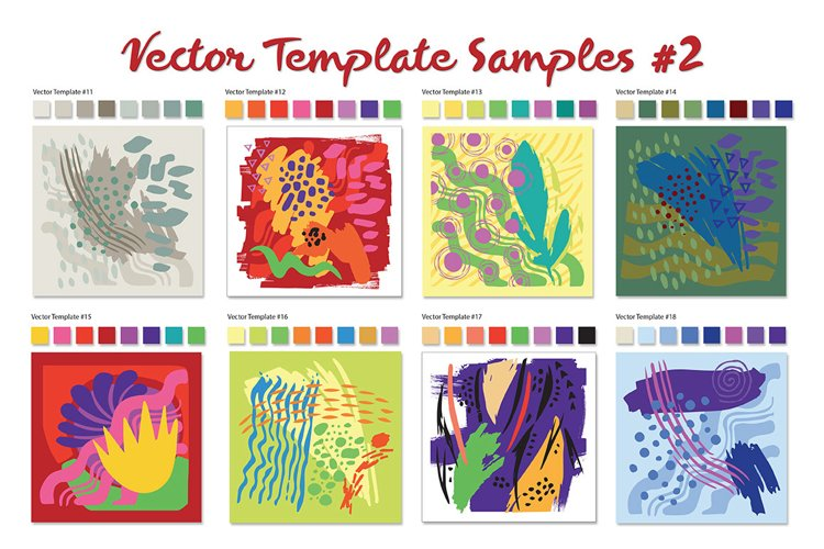 Vector Template Shapes #2