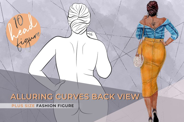 The Leg Flash| Plus size Fashion Figure