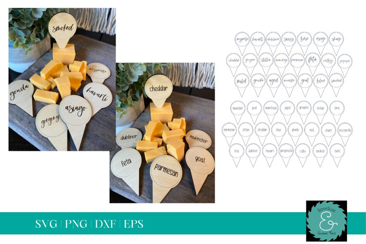 Charcuterie SVG, Wine and Cheese Board SVG, Glowforge SVG example image 1