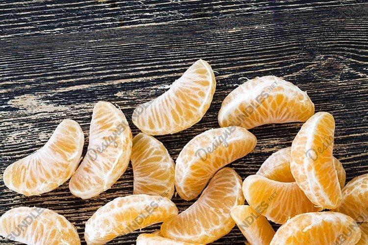 peeled delicious tangerine example image 1