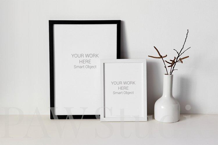 Black and White Photo Frame Mockups example 5
