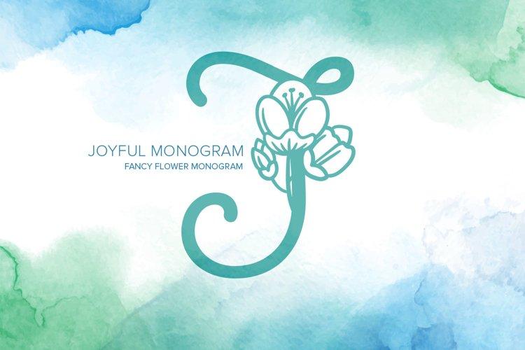 Joyful Monogram example image 1