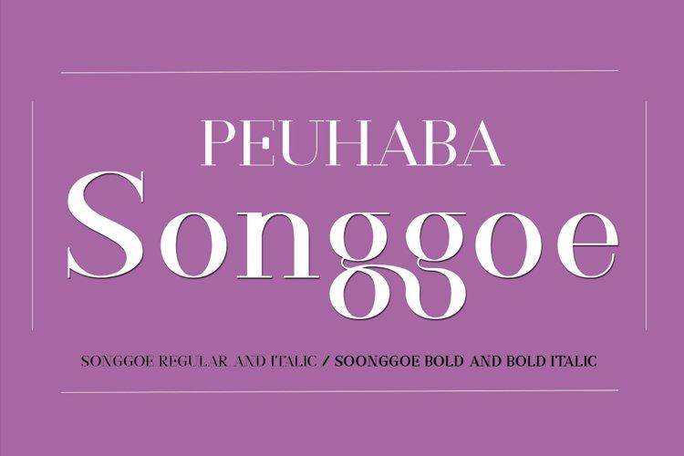Songgoe Regular example image 1