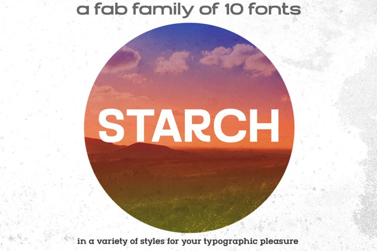 STARCH font family
