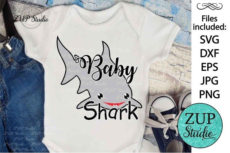 Baby Shark Design SVG Digital Cutting files 234