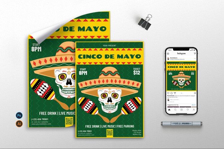 Cinco De Mayo vol.4 - Flyer, Poster, Instagram RB