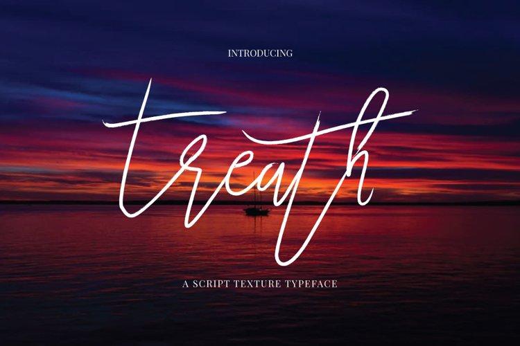 Treath Typeface example image 1