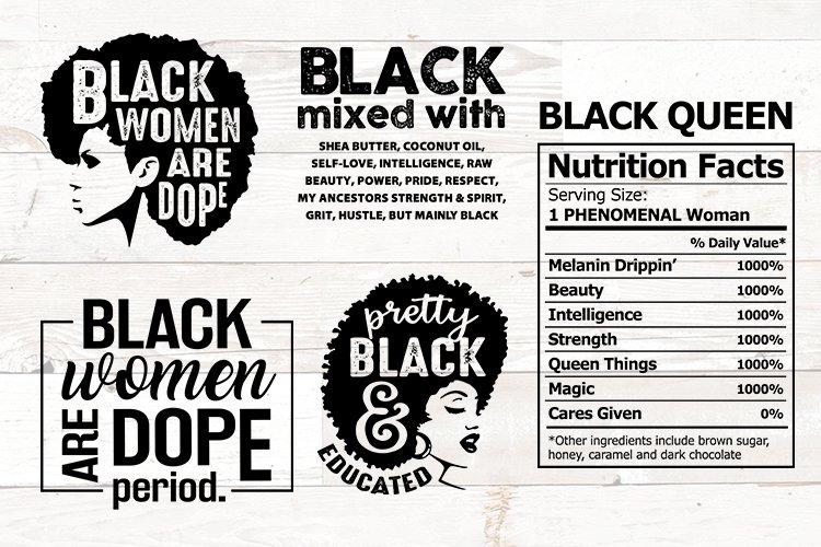 Black Women svg bundle - Black Woman svg