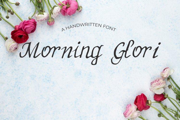 MorningGlori Font example image 1
