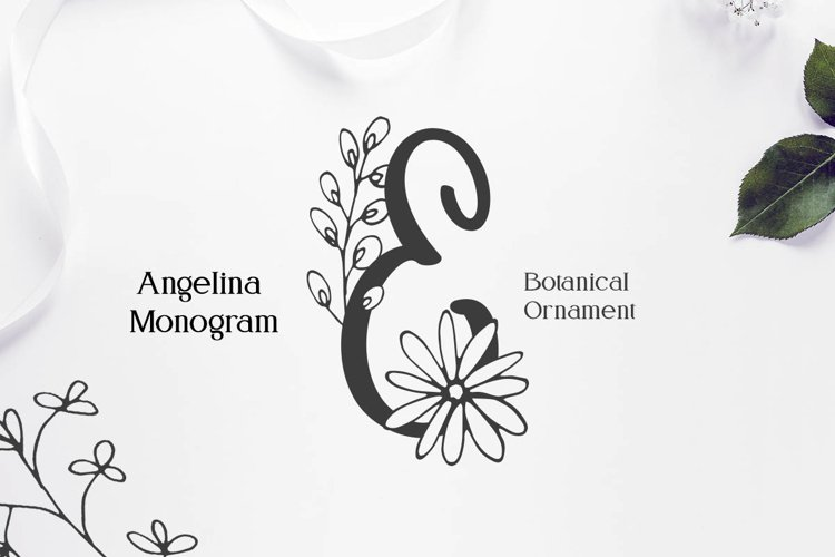 Angelina Monogram example image 1