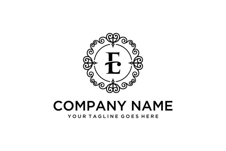 luxury E sign example image 1