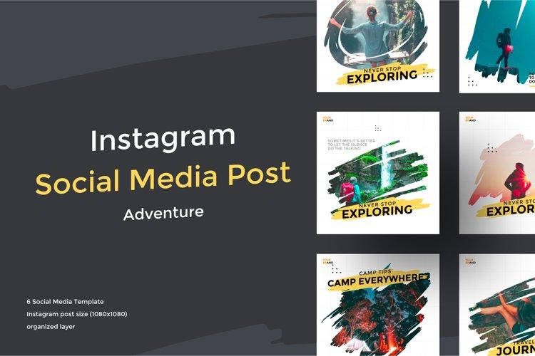 Adventure Social Media Template example image 1