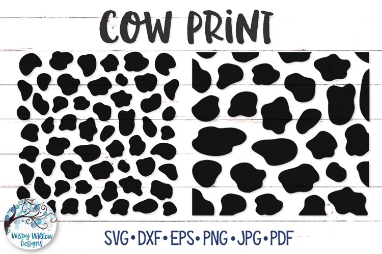 Cow Print SVG Bundle