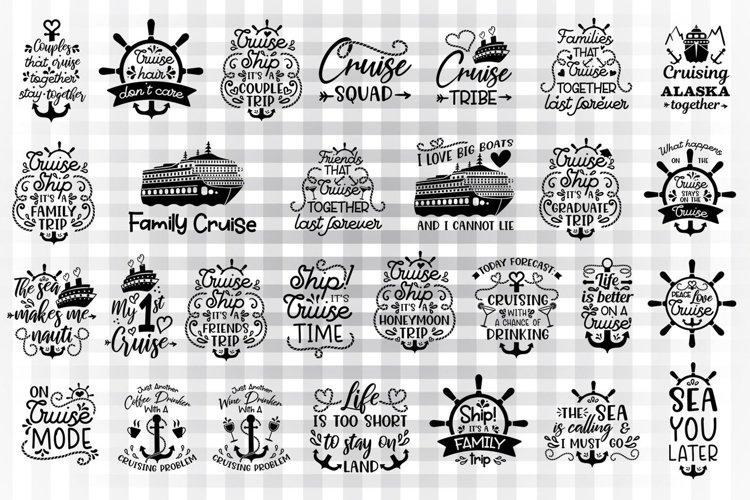 Cruise svg bundle