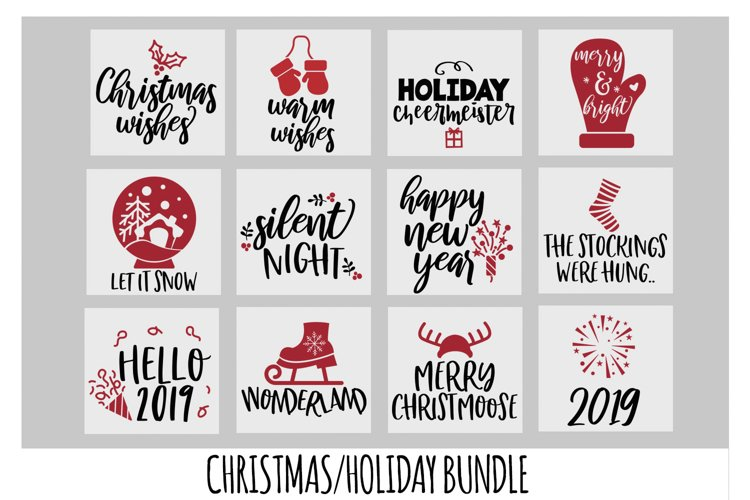 Christmas SVG Bundle, New Years SVG, Mittens SVG, Cricut SVG example image 1
