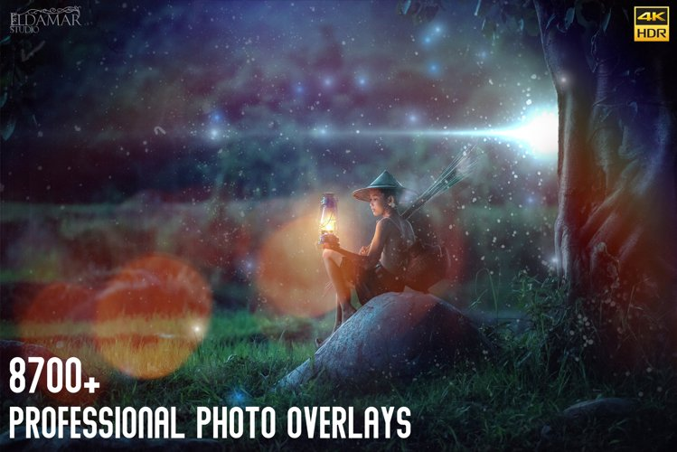 8700 Professional Photo Overlays