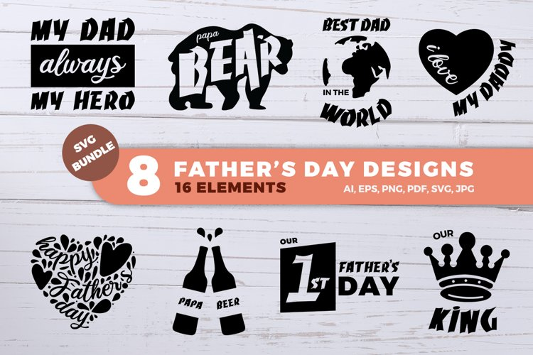 Fathers Day SVG Bundle