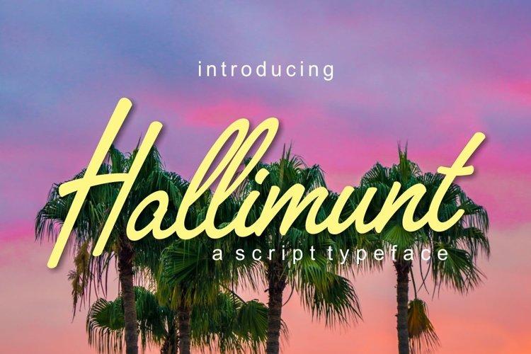 Hallimunt