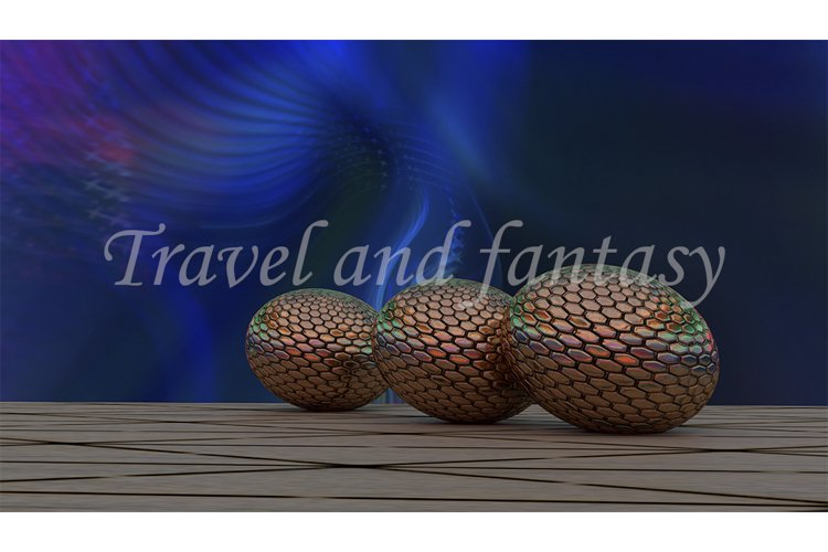 Abstract background with eggs example image 1