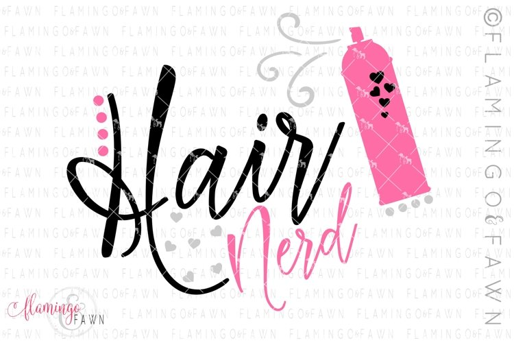 Download Hair Stylist Svg Hair Nerd 380192 Svgs Design Bundles
