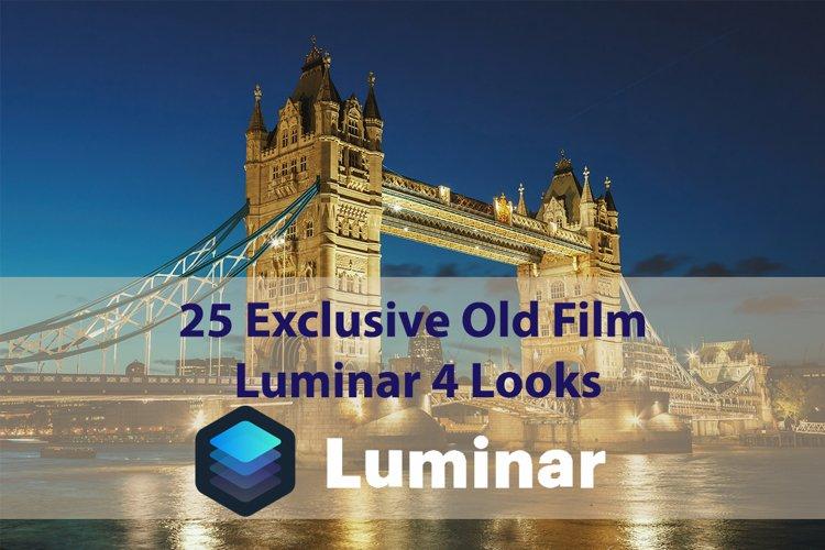 25 Exclusive Old Film Luminar 4 Looks example image 1