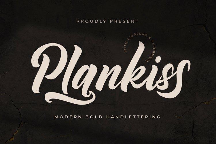 Plantkiss - Logotype Font example image 1