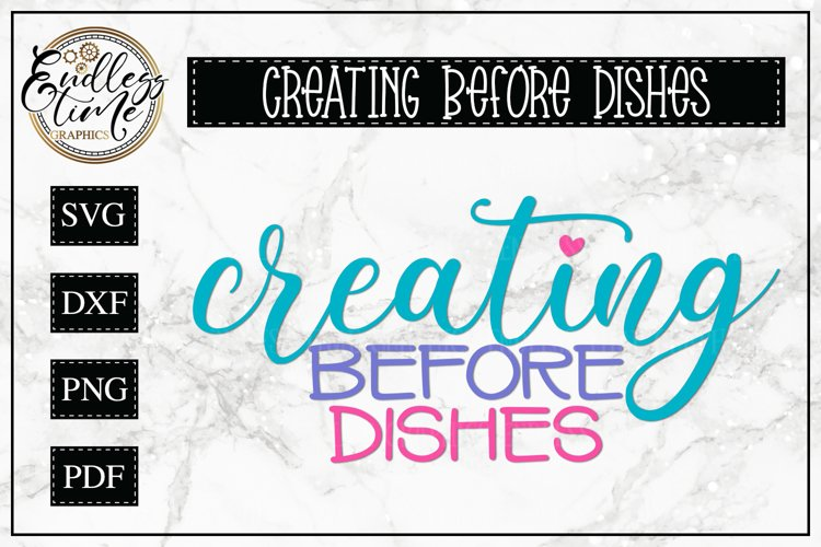 Creating Before Dishes
