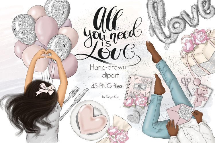 All You Need Is Love Graphic Design KIt example image 1