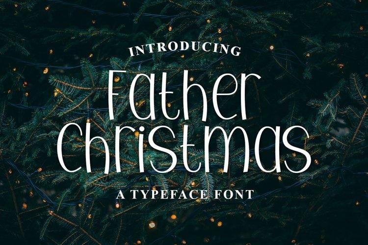 Web Font Father Christmas example image 1