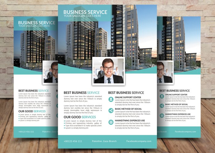 Business Service Flyer example image 1