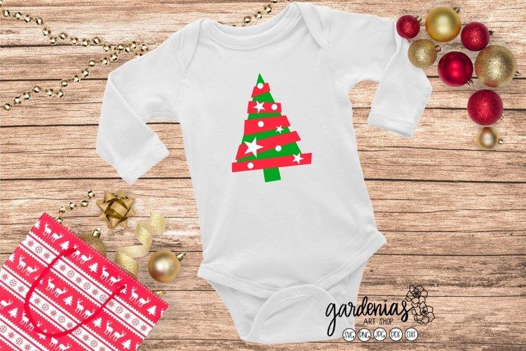 Christmas Tree SVG | Fun Cut File | Christmas Clip Art | PNG