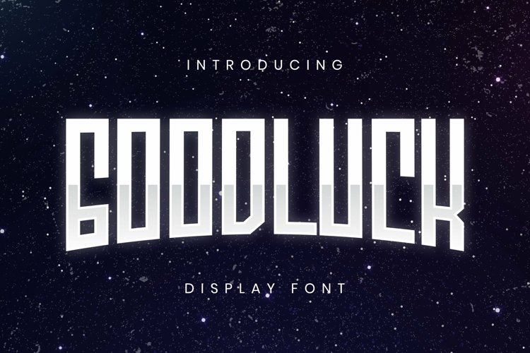 Web Font Good Luck Font example image 1