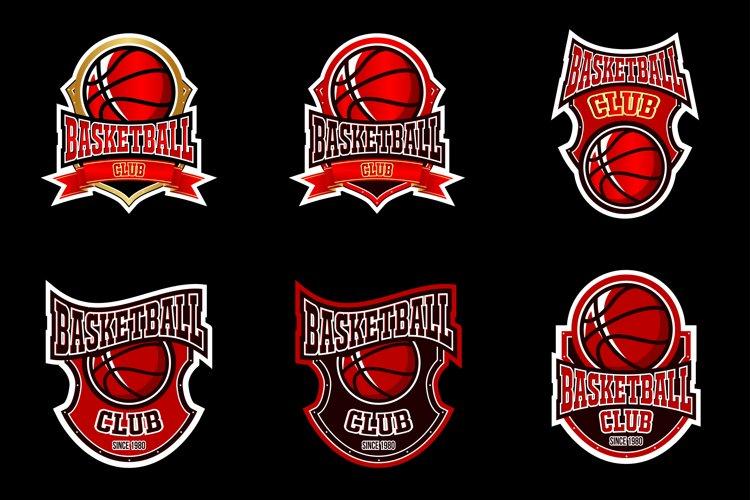 basketball logo example image 1