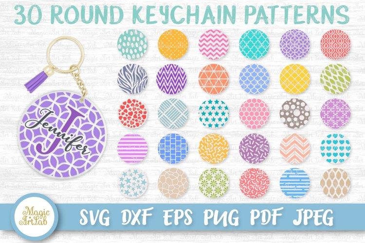 Keychain svg, Round pattern svg, Keychain pattern svg