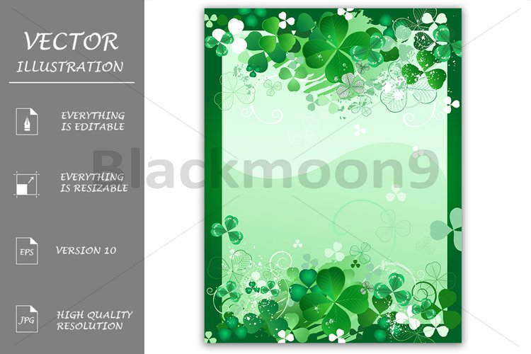 Design with Leaf Clover example image 1