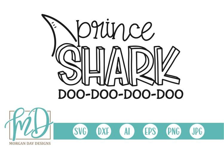 Family Shark - Doo Doo - Birthday - Prince Shark SVG