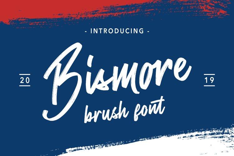 Bismore - Brush Font example image 1
